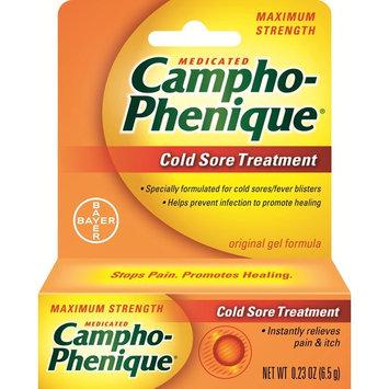 12 Pack Campho-Phenique Maximum Strength Cold Sore Treatment Gel - 0.23 oz Each