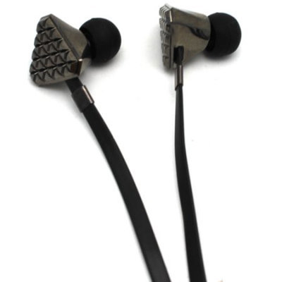 Monster Cable Lady Gaga Heartbeats, High Performance In-Ear Headphones - Black Chrome