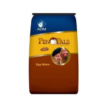 Adm Animal Nutrition 70010AAA26 Chicken Feed Pellets, Egg Maker, 25-Lbs.