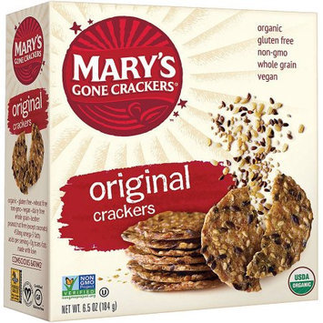 Mary's Gone Crackers Original Crackers, 6.5 oz, (Pack of 3)