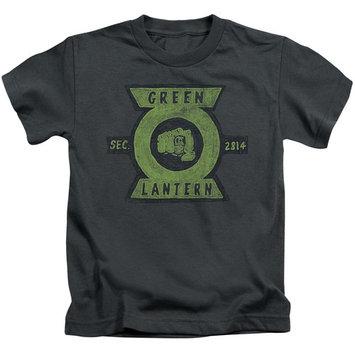 Green Lantern/Section S/S Juvenile 18/1 Charcoal Gl352 [clothing_size_type: clothing_size_type-regular]