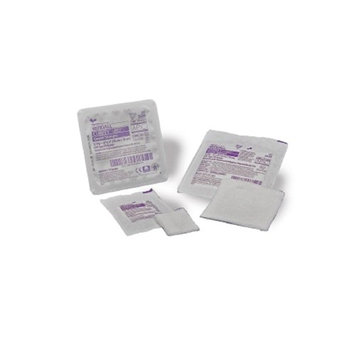 Curity - AMD - USP Type VII Antimicrobial Gauze Sponge Curity - AMD - Gauze 8-Ply 2 X 2 Inch Square Sterile - 100/Box - McK