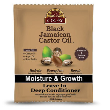 Okay Black Jamaican Castor Oil Leave In Conditioner, 1.5 Oz