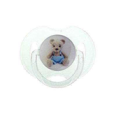 Crochet Teddy Bear Pacifier