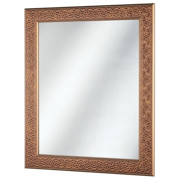 Home Decorators Collection 24 in. x 29 in. Framed Fog Free Wall Mirror in Bronze