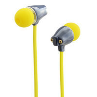 Cliptec Black Remeoz Music Stereo 3.5mm Wired In-Ear Headphones Noise Isolation In-line Control /Mic