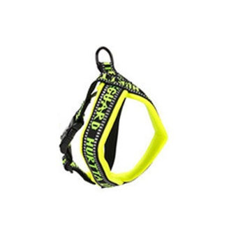 Hurtta Padded Dog Y-Harness, 39 inch L, Yellow