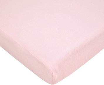 American Baby Company Value Jersey 100 Percent Cotton Knit Pack-N-Play Sheet - Pink - 2 Pack