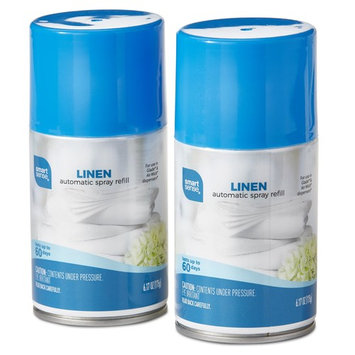 Smart Sense 2-Pack Linen Automatic Spray Refill Cans