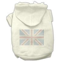 Mirage Pet Products British Flag Hoodies Cream XL (16)