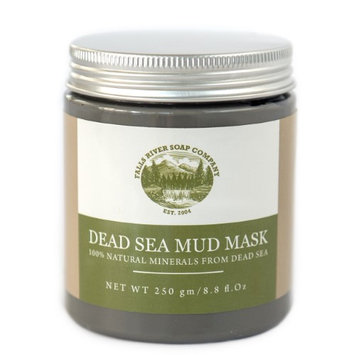 Falls River Soap Company Dead Sea Mud Mask for Face, Body & Hair Treatment. 100% Natural minerals from Dead Sea, 250g / 8.8 fl. oz