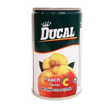 Ducal Peach Juice 5.3 oz fl - Jugo de Melocoton (Pack of 24)