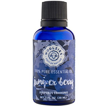 Woolzies 100% Pure Juniper Berry Essential oil, Therapeutic grade, Aromatherapy oils – 1oz