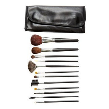 Crown Brush - 12-Piece Brush Set with Case Set 600