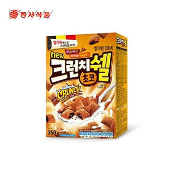 Dongsuh Post Cereal Crunchy Shell Chocolate 350G X 3