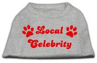 Mirage Pet Products 5141 XXLGY Local Celebrity Screen Print Shirts Grey XXL 18