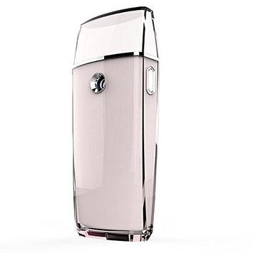 HaloVa Facial Mist Sprayer, Portable Handy Nano Moisture Face Mister, Moisturizing & Hydrating Mini Ionic Facial Steamer, USB Rechargeable, Pink