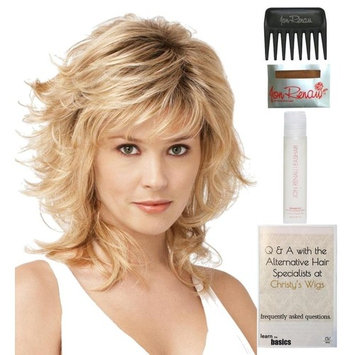Bundle - 5 items: Tress by Raquel Welch Wig, 15 Page Christy's Wigs Q & A Booklet, Wig Shampoo, Wig Cap & Wide Tooth Comb (Color Selected: R8) : Beauty