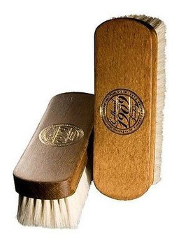 Collonil 1909 FINE Shoe Boot Shine Buff Brush with Natural Goat's Hair x 1 (One)
