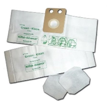GK MicroPlus For Dirt Devil GKH-DDC Microplus 3 Ply Biodegradable Vacuum Bags Pack of 75