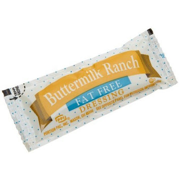 Portion Pack Fat Free Buttermilk Ranch Dressing, 0.42-Ounce Single Serve Packages (Pack of 200)