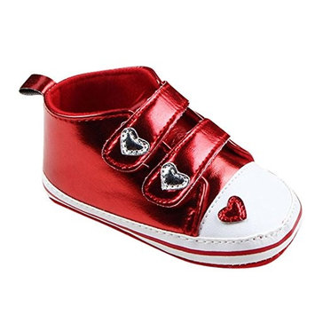 Clode® for 0-18 Mnoths Girls Boys, Cute Infant Girl Soft Sole Crib Shoes Velcro Non Slip Sneaker