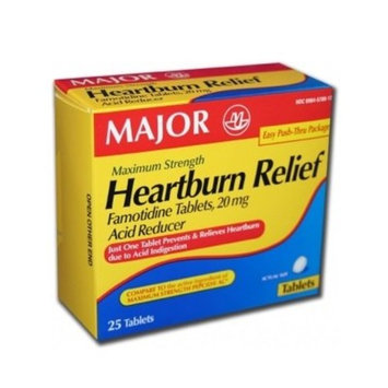 Heartburn Relief Maximum Strength, 25 Tablets