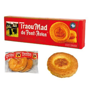 Traou Mad Palets (Biscuits), Red, 3.5-Ounce Carton