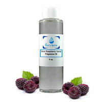 Black Raspberry Vanilla Fragrance Oil - Essential for Candles, Bath Bombs, Perfume. Diffusers, Body Butter, Lotions and Soap Making - Works for All Bath and Body Products - 4 oz.