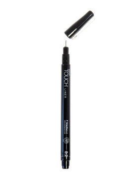 Shinhan Touch Liner 0.2, black [pack of 4]