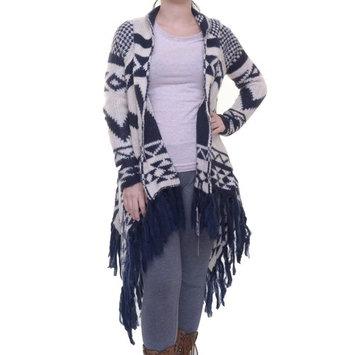 Joe & Elle NAvy Cardigan Long Sleeve Size XS NWT - Movaz