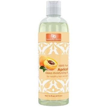 Beauty Aura 100% Pure Apricot Kernel Oil 16 Oz?