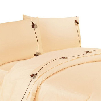 Pine Cone Sheet Set by HiEnd Accents