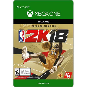 Incomm Xbox One NBA 2K18 Legend Edition Gold (email delivery)