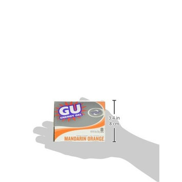 GU Energy Original Sports Nutrition Energy Gel, Mandarin Orange, 24-Count [Mandarin Orange]