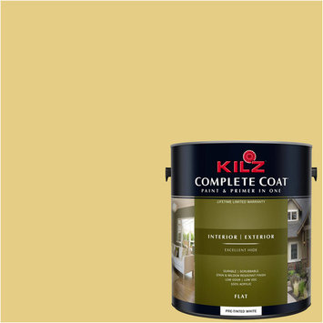 KILZ COMPLETE COAT Interior/Exterior Paint & Primer in One #LE240-02 Chilled Chardonnay