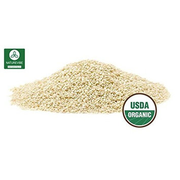 Organic Sesame Seeds (2lb) by Naturevibe Botanicals, Gluten-Free & Non-GMO (32 ounces) (2 Pack