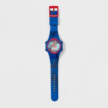 Boys' Spider-Man Flashing LCD Watch - Blue