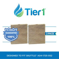 A04-1725-052 Skuttle Comparable Humidifier Evaporator Pad by Tier1 (2-Pack)