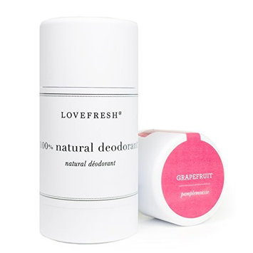 Lovefresh - All Natural Deodorant | Aluminum Free (Grapefruit)