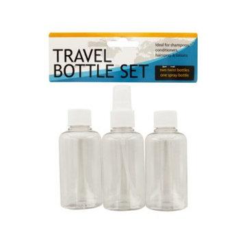 Travel Twist Top &Amp; Spray Bottle Set (Pack Of 24)