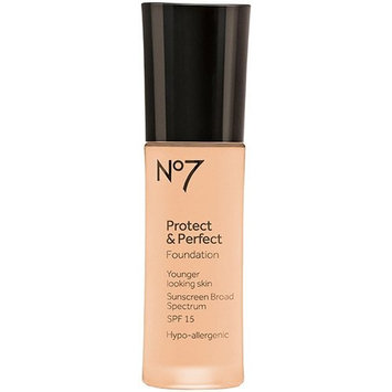 Boots No7 Protect & Perfect Foundation Deeply Beige