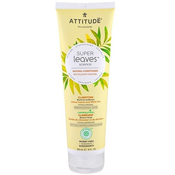 Attitude Super Leaves Science w/Lemon Leaves and White Tea Natural Conditioner - Clarifying 8oz H