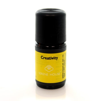 Serene House Home Fragrance Creativity Scent Essential Oil Aromatherapy Inspiring, 2.25 in.