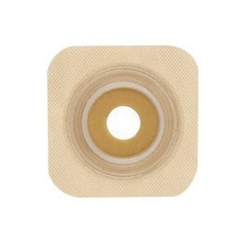 Sur-Fit Natura 2-PC Pre-Cut Stomahesive Skin Barrier W/Tape Collar 45mm FLG, 10CT, 16mm STM