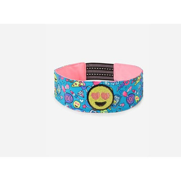 Justice Girls Sequin Emoji Sticker Headwrap