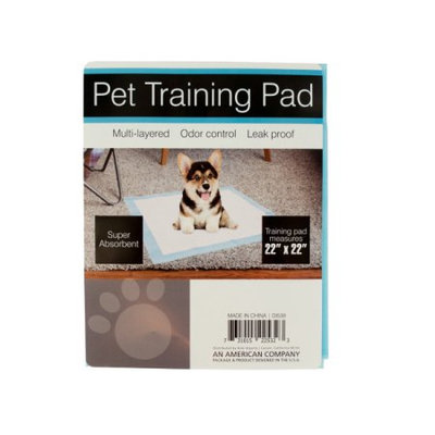 Sunrise Odor Control Pet Training Pad - - Set of 12