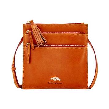 Denver Broncos Florentine Triple Zip Crossbody Bag