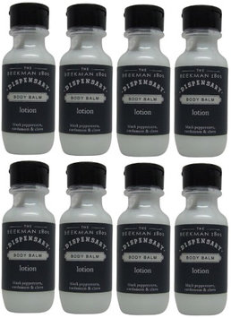Beekman 1802 Dispensary Body Balm Lotion Lot of 8 Each 1oz Bottles. oz (Pack of 8)