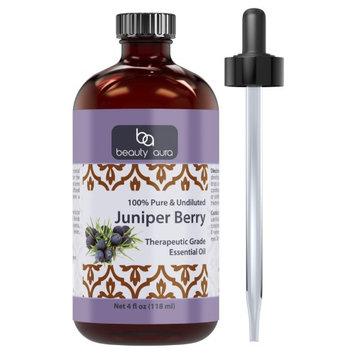 Beauty Aura Juniper Berry Essential Oil - 4 fl oz (118 ml)